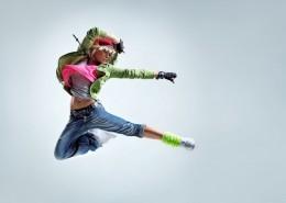 Girl Side Jump