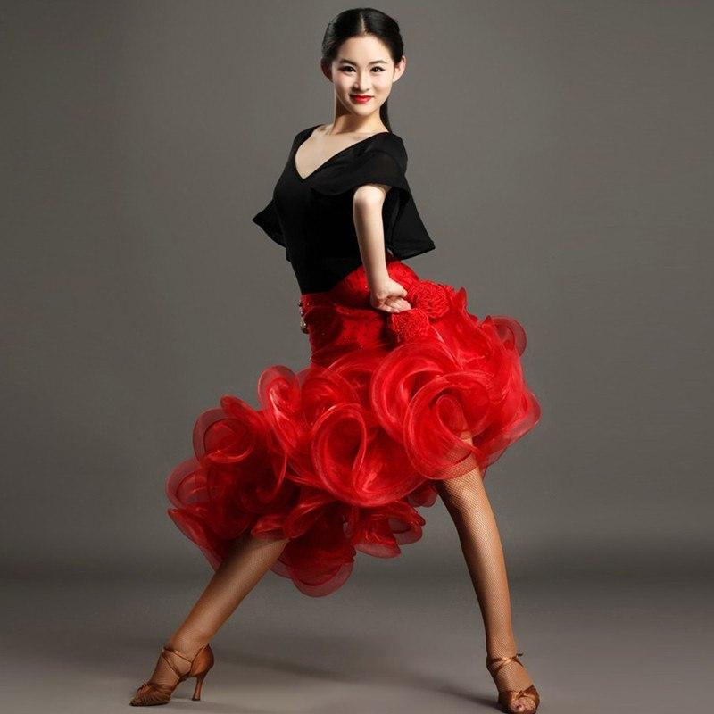 Czarny-czerwony-kobieta-latin-dance-str-j-do-taniec-kobiet-aci-skiej-sukienka-sukienka-tango-dancewear